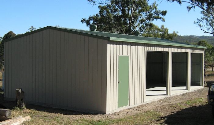 How to build your own storage shed cheap how to build for Garden shed qld