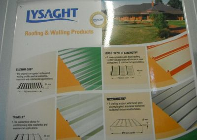 Roofing and Walling Products