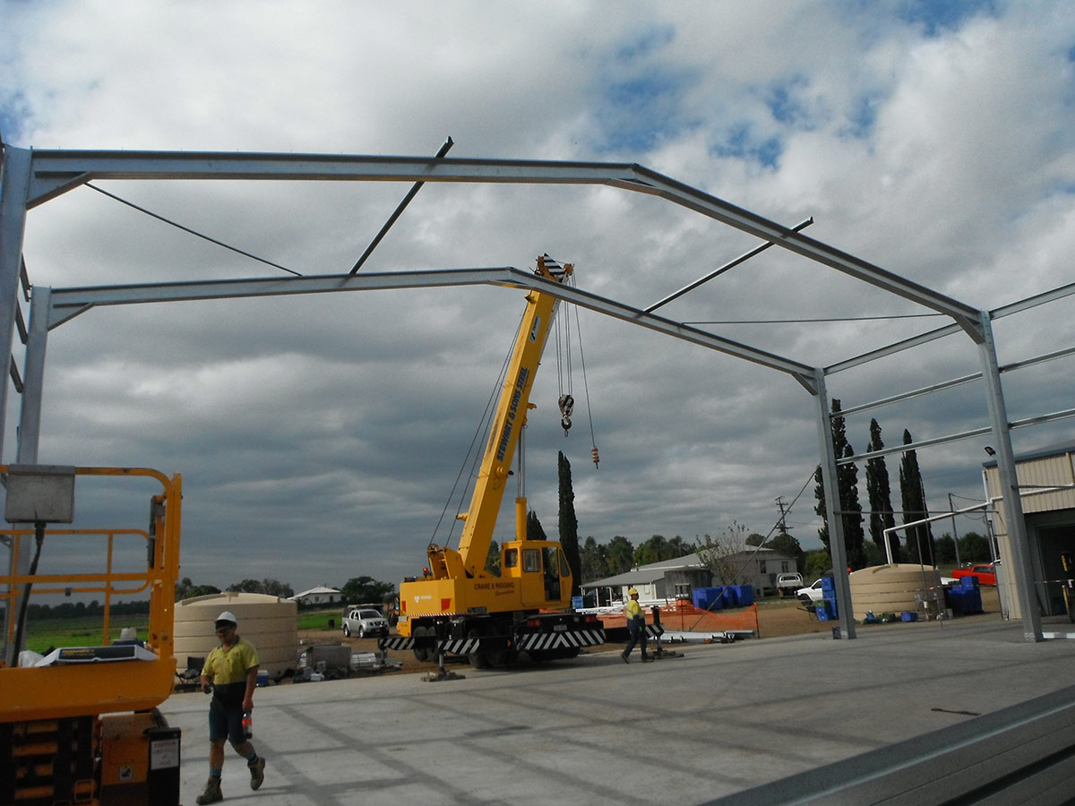 Commercial Shed Constructions Qld Pty Ltd